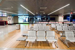 Fiumicino Airport interior Royalty Free Stock Photos