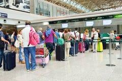 Fiumicino Airport interior Stock Photography