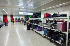 Fiumicino lotniska wnętrze Obraz Stock