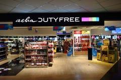 Fiumicino lotniska wnętrze Zdjęcie Stock