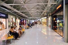 Fiumicino lotniska wnętrze Obrazy Stock
