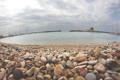 Fiumicino Touristic Harbor Royalty Free Stock Photos