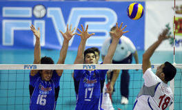 FIVB BOYS YOUTH VOLLEYBALL WORLD CHAMPIONSHIP Stock Photos