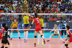 2015 FIVB-de Grand Prix van de Volleyballwereld Stock Fotografie