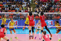 2015 FIVB-de Grand Prix van de Volleyballwereld Royalty-vrije Stock Foto