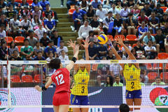 2015 FIVB-de Grand Prix van de Volleyballwereld Stock Foto