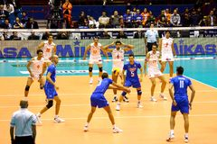 FIVB Men�s Volleyball World Championship Royalty Free Stock Photos