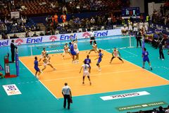 FIVB Menâs Volleyball-Weltmeisterschaft Lizenzfreies Stockfoto