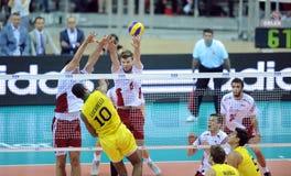 FIVB Poland Brasil Volleyball Royalty Free Stock Photos