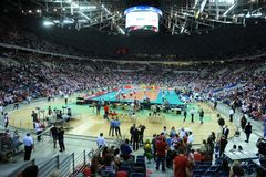 FIVB Poland Brasil Volleyball Stock Images