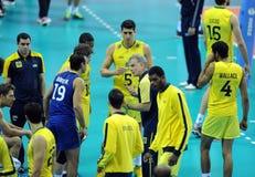 FIVB Poland Brasil Volleyball Stock Photos