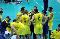 FIVB Poland Brasil Volleyball Stock Photography
