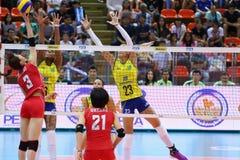 2015 FIVB-Volleyball-Welt Grandprix Lizenzfreie Stockfotos