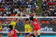 2015 FIVB-Volleyball-Welt Grandprix Lizenzfreies Stockbild
