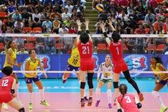2015 FIVB-Volleyball-Welt Grandprix Lizenzfreies Stockfoto