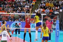 2015 FIVB-Volleyball-Welt Grandprix Stockfoto