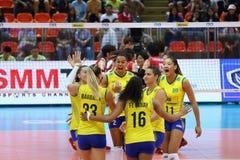 2015 FIVB-Volleyball-Welt Grandprix Stockfotos