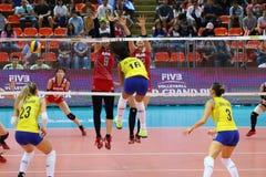 2015 FIVB-Volleyball-Welt Grandprix Lizenzfreie Stockbilder