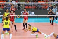 2015 FIVB-Volleyball-Welt Grandprix Stockfotografie
