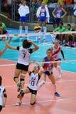 2015 FIVB-Volleyball-Welt Grandprix Lizenzfreie Stockfotografie