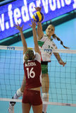 FIVB WOMEN'S VOLLEYBALL CHAMPIONSHIP - BULGARIA Royalty Free Stock Image