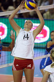 FIVB WOMEN'S VOLLEYBALL CHAMPIONSHIP - CZECH REP. Royalty Free Stock Images