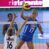FIVB WOMEN'S VOLLEYBALL CHAMPIONSHIP - ITALY Royalty Free Stock Photos