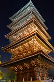 A five�storied pagoda Royalty Free Stock Photo