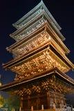 Five† piętrowa pagoda Zdjęcie Royalty Free
