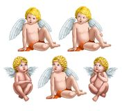 Five angels Stock Photo