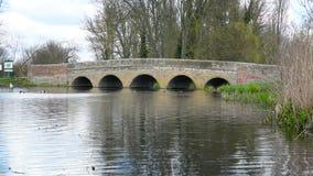 Five Arches Bridge stock video footage