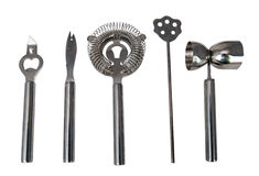 Five bar tools Royalty Free Stock Photo