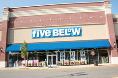 Five Below Stock Image