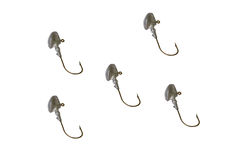 Five big  hooks Royalty Free Stock Image