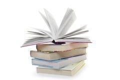 Five books Stock Photos