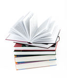 Five books Stock Image