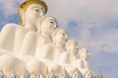 Five Buddha image. In Phetchabun, Thailand Royalty Free Stock Photo
