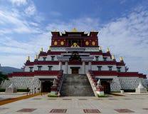 Five-Buddha-Palmprint Mandala Royalty Free Stock Photo