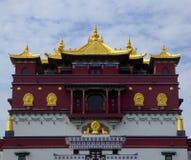 Five-Buddha-Palmprint Mandala Stock Image