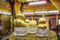Five buddhas temple Royalty Free Stock Image