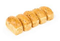 Five buns Stock Photos