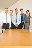 Five business colleagues royalty free stock images