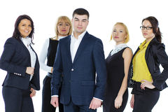 Five Business people Royalty Free Stock Photos