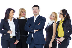 Five Business people Stock Photos