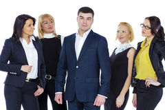 Five Business people Stock Photography
