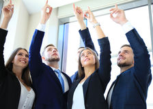 Five business people Stock Image