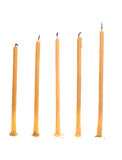 Five candle Royalty Free Stock Images