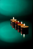 Five candle Royalty Free Stock Image