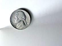 Five cents Stock Photography