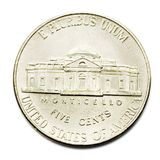 Five Cents Coin Stock Photography